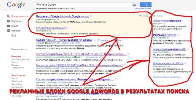 Реклама на сайт от гугл регистрация гугл адвордс вход